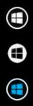 StartIsBack Orbs Black White Blue by Jarminx