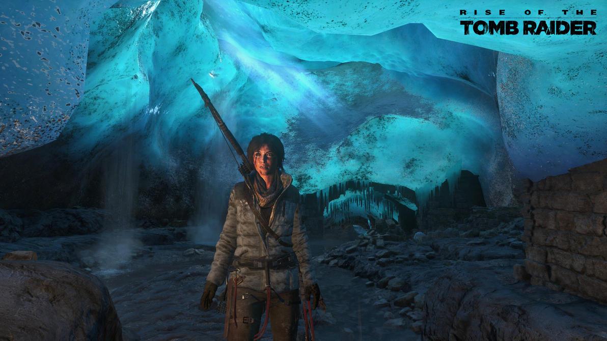 Rise of The Tomb Raider GLACIER WALLPAPER by Jarminx