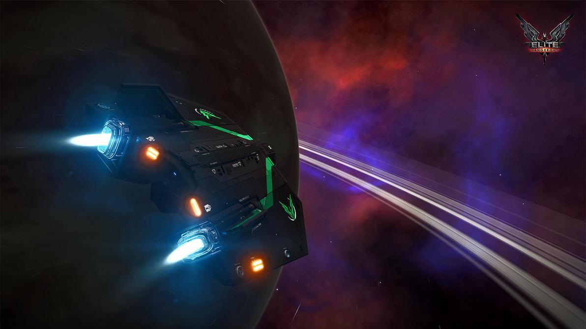 Elite Dangerous GasGiant Nebula Wallpaper 4k 1080p By