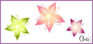cimoetz's sparkling flower by Cimoetz