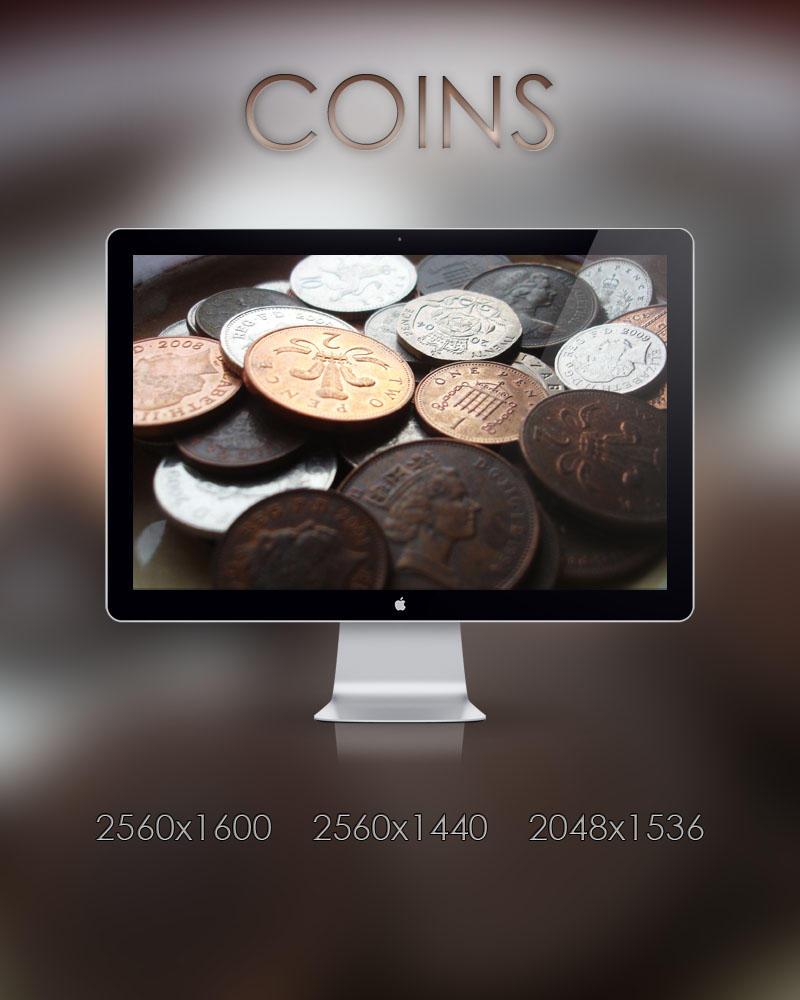 Coins by samjonesx