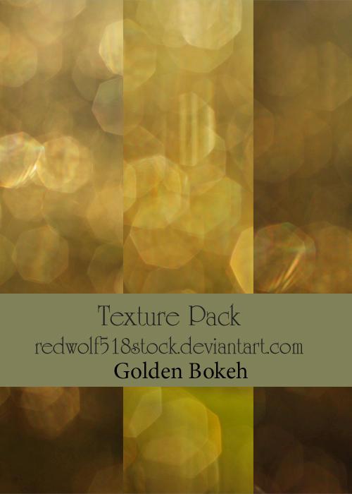 Golden Bokeh TextPak
