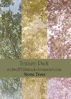 Stone Trees Texture Pack by redwolf518stock
