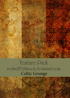 Celtic Grunge Texture Pack by redwolf518stock