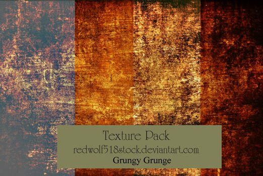 Grungy Grunge Texture Stock Pack