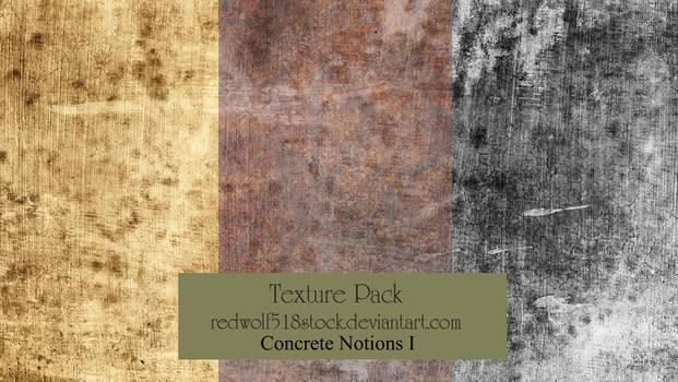 Concrete Notions Texture Pack I