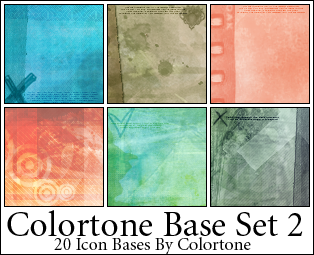 Icon Texture Bases Set Two by magdalena-stock
