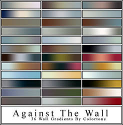 Wall Gradients For Photoshop