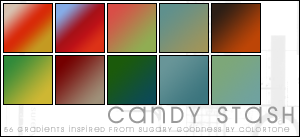 Candy Stash Gradients by magdalena-stock