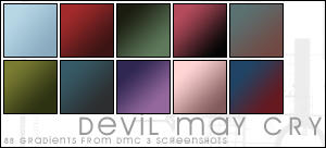 Devil May Cry 3 Gradients by magdalena-stock