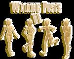 .:: MMD Walking pose pack ::. DL