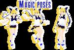 MMD - magic poses DL