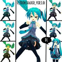 G ToonShader Ver3.01 - Effect - DL by MMDMikuxLen