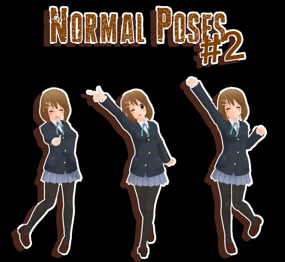 MMD - normal poses#2 DL by MMDMikuxLen