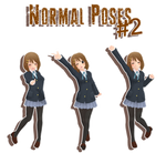 MMD - normal poses#2 DL