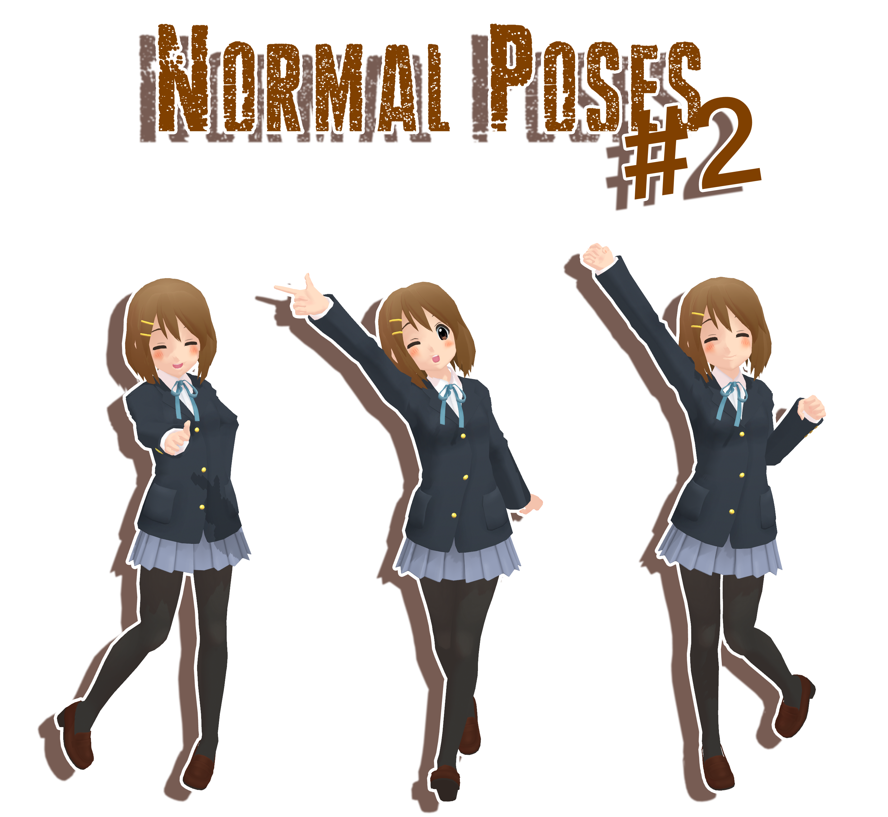 Pose Download - MMD-Many-Downloads - DeviantArt