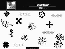 + Small flowers  { b r u s h e s } by Arcaangel