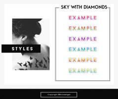+ Sky with diamonds { s t y l e s } by Arcaangel