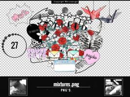 +Mixtures { . p n g ' s } by Arcaangel