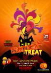 Kids Halloween Flyer Template - Free PSD