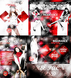 Free Pack 4 psd