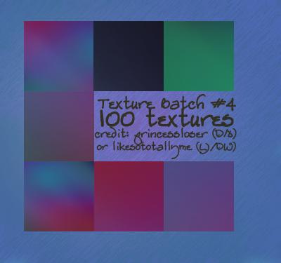 Set 4 - Icon Textures by princessloser