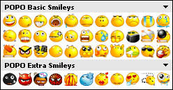 POPO Emoticons v1.0 by dotzero