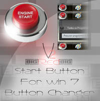 BIG Red Start button 2 version by bigjoez79