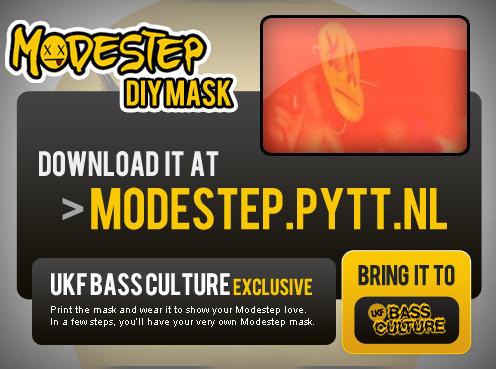 Modestep DIY Mask: UKF Bass Culture Exclusive by Pytt