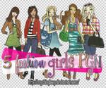 5 Fashion Girls PGN