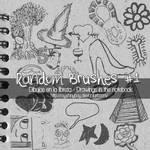 RandomBrushes-NotebookDrawing by MyShinyBoy