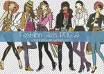 Fashion Girls PNG .2