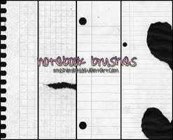 Notebook Brushes by MyShinyBoy