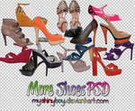 More Shoes PSD