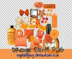 Orange Stuff PNG Vol.1