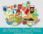 30 Random Food PNG