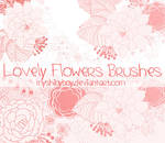 Lovely Flowers Brushes