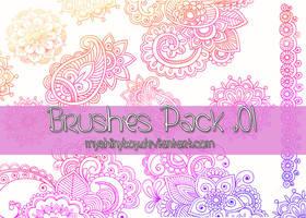 Brushes Pack .01 by MyShinyBoy