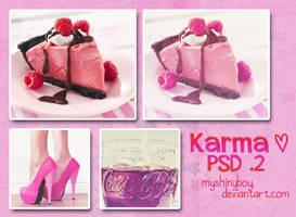 Karma PSD .2 by MyShinyBoy