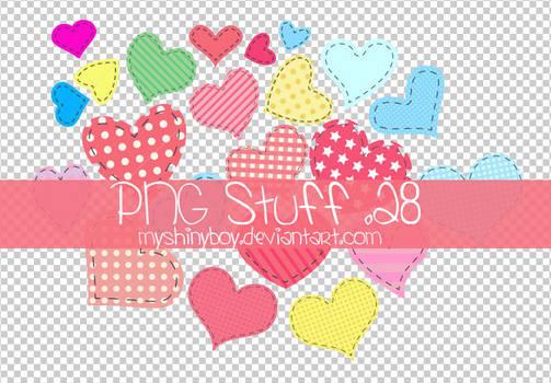 PNG Stuff .28 - Hearts