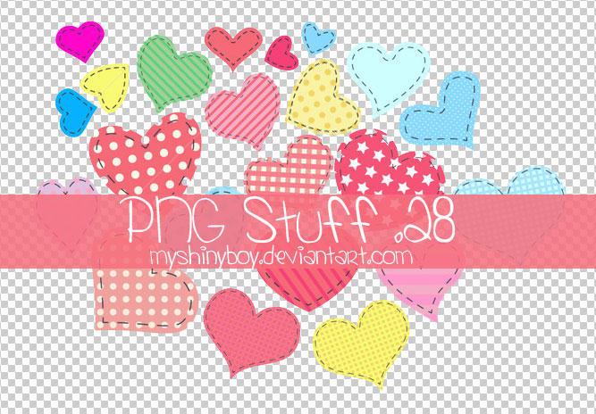 PNG Stuff .28 - Hearts by MyShinyBoy