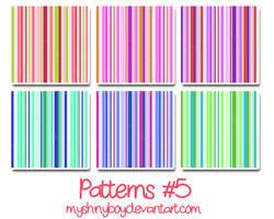 Patterns .5 by MyShinyBoy