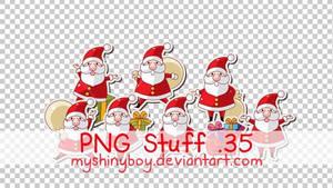PNG Stuff 35 -Christmas Santas