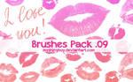 Brushes Pack .09 - Kisses