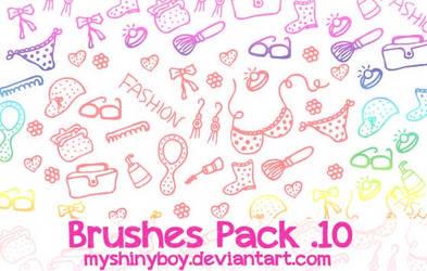 Brushes Pack .10 by MyShinyBoy