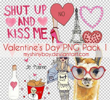 Valentine's Day PNG Pack 1 by MyShinyBoy
