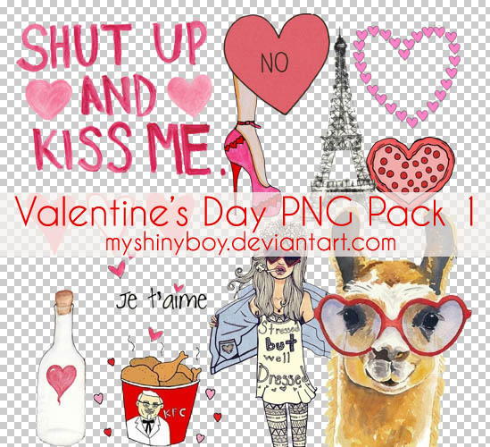 Valentine's Day PNG Pack 1