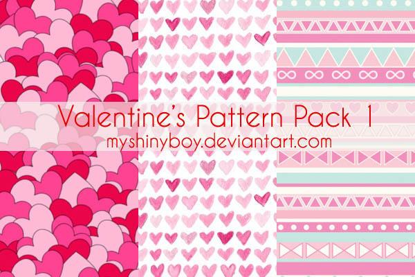 Valentine's Day Pattern Pack 2