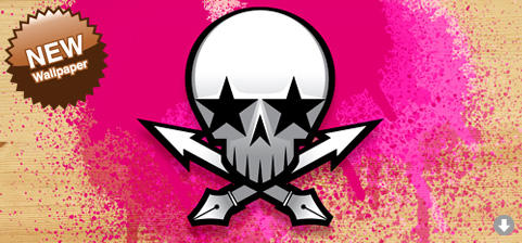 Vector skull by cebox