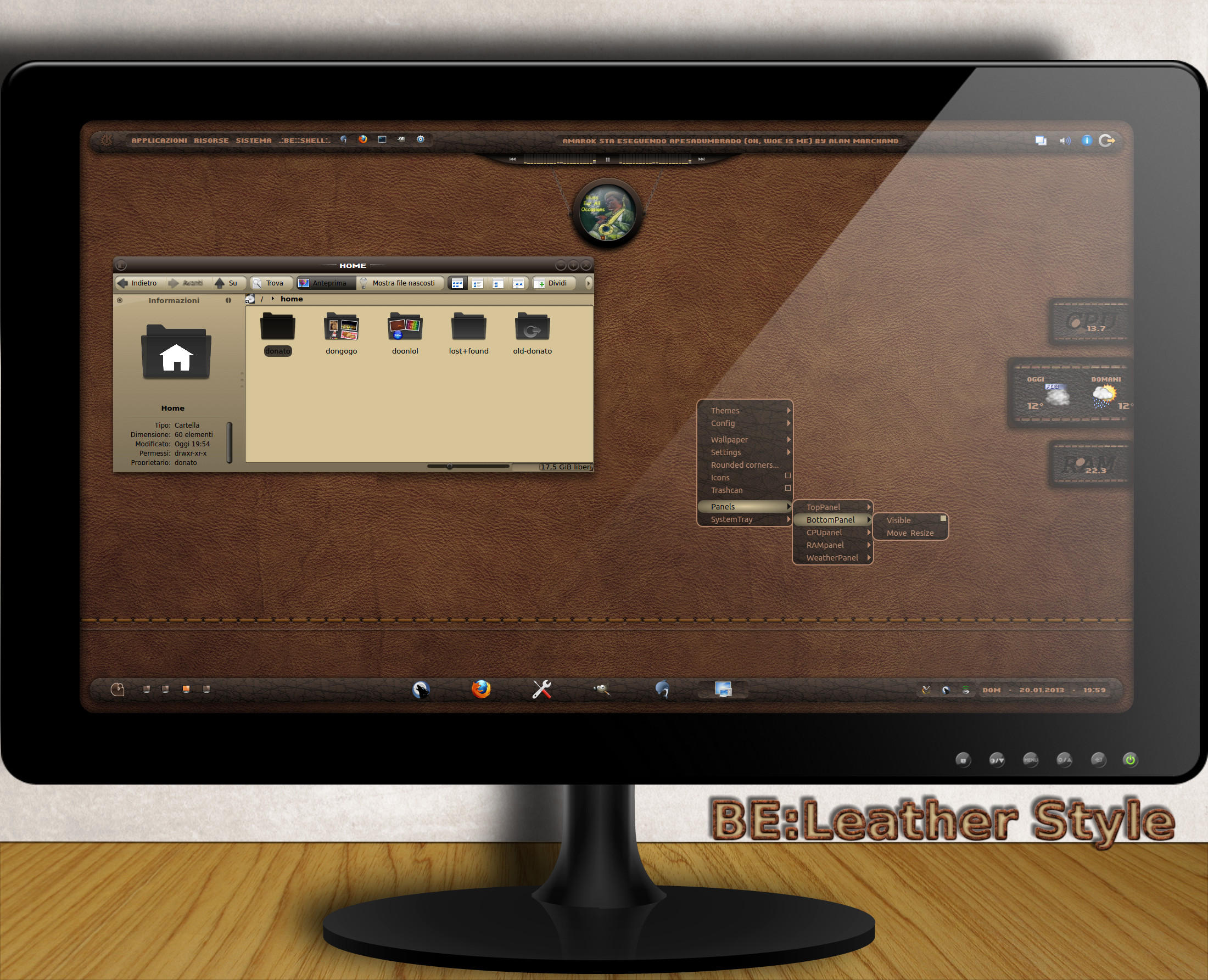 BE::Leather Style - Theme by dongogo